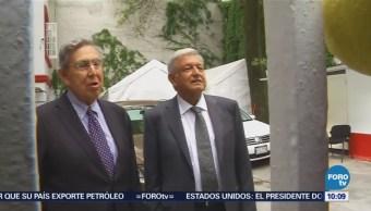 Se reúnen AMLO y Cuauhtémoc Cárdenas