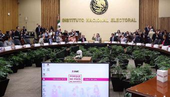 INE alista resultados de elección de senadores y diputados