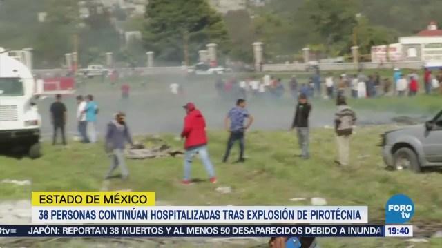 Siguen Hospitalizadas Personas Estallido Tultepec Estado de México