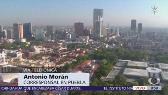 Sin afectaciones en Puebla tras sismo en Huajuapan de León, Oaxaca