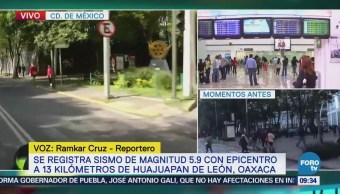 Sismo no modifica actividades en la zona de Mariano Escobedo, CDMX