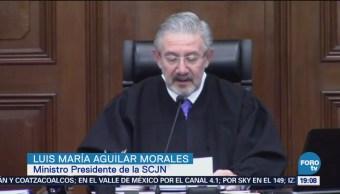 Suprema Corte Saluda Triunfo López Obrador