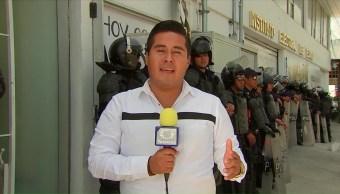 Tensa Calma Enfrentamiento Entre Militantes Puebla