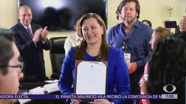 Termina conteo de votos en Puebla, Martha Erika Alonso aventaja