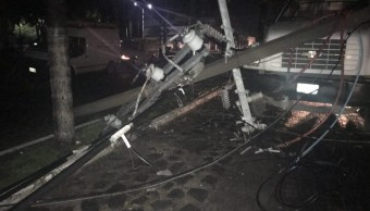 Tormenta deja afectaciones en Tlajomulco, Jalisco
