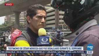 Trabajador de plaza Artz Pedregal narra incidente para FOROtv