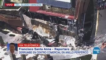 Trabe vencida causó derrumbe en Artz Pedregal, explica Fausto Lugo