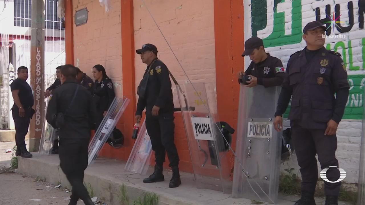 Trasladan paquetes electorales a Tuxtla Gutiérrez