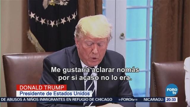 Trump acepta que hubo injerencia rusa en