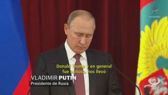 Trump buscará segunda cumbre con Putin