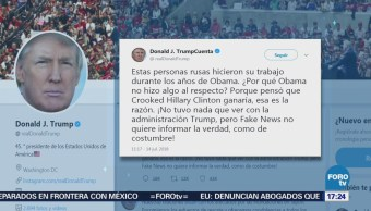 Trump Culpa Obama No Responder Hackers
