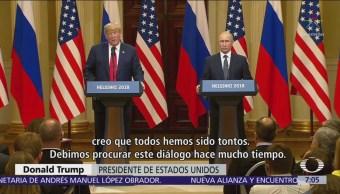 Trump y Putin califican de exitosa su histórica reunión en Finlandia