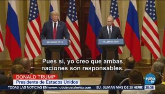 Trump y Putin se reúnen en Finlandia