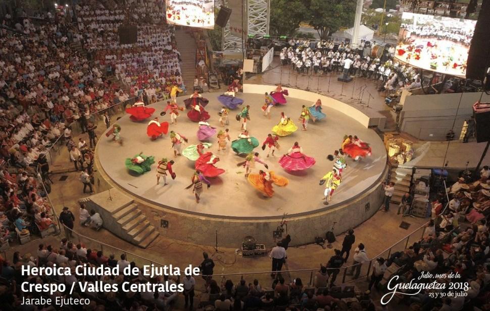 Concluye la fiesta de la Guelaguetza en Oaxaca