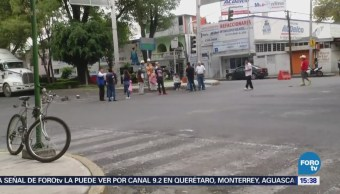 Vecinos Cerraron Avenida Cuitláhuac Falta Agua