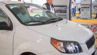Acuden 1,446 automóviles a verificación vehicular en la CDMX