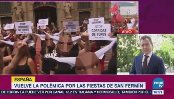 Vuelve Polémica Fiestas San Fermín