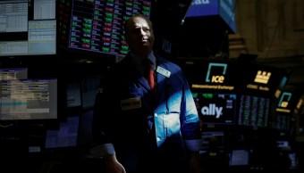Wall Street a la baja por débiles resultados trimestrales