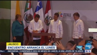 XIII Cumbre de la Alianza del Pacífico arranca el lunes en Jalisco