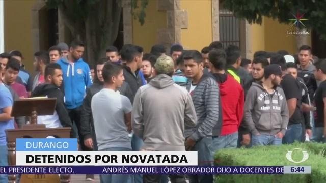 3 detenidos por novatada que dejó un muerto en Durango