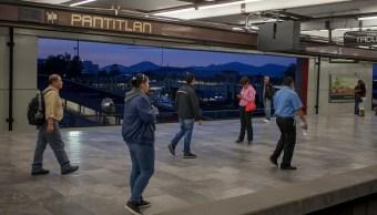 restablecen servicio en linea a del metro caida rayo