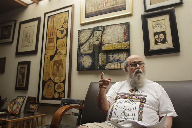 Muere el escritor ganador del Nobel V.S. Naipaul
