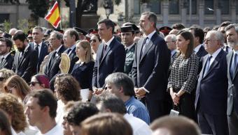 Conmemoran un año de los ataques terrorista en Cataluña