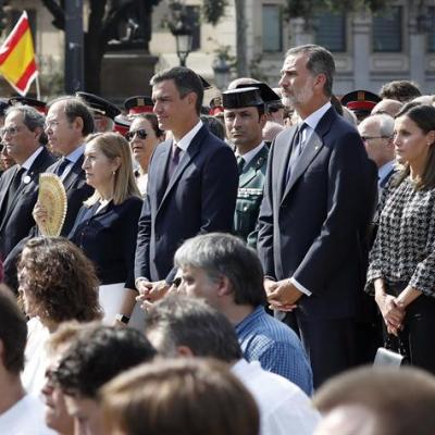 España conmemora un año de los ataques terroristas en Cataluña