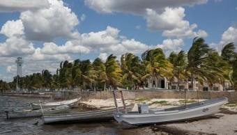 Sargazo llega a costas de Yucatán