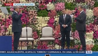 Iván Duque Asume Presidencia Colombia