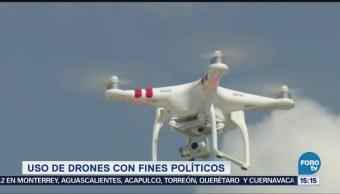 Uso Drones Fines Políticos