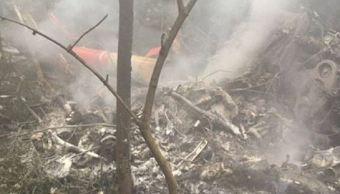 Accidente de avión en bosque de Suiza deja varios muertos