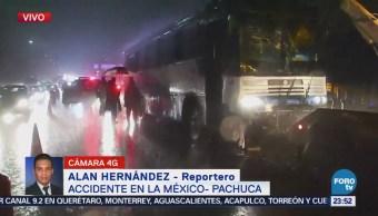Accidente En La México-Pachuca Deja Un Muerto