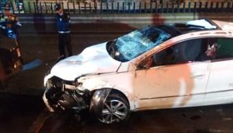 Accidentes automovilísticos en la CDMX dejan un herido