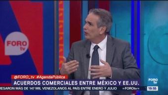 Acuerdo Comercial México Estados Unidos, Despeja Incógnitas, Luis Miguel Gonzalez Conocer El Texto A Detalle