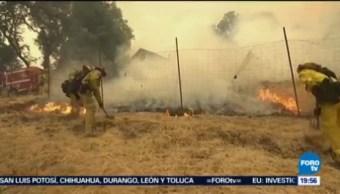 Incendios California Siguen Fuera Control