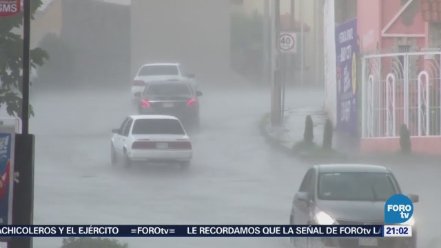 Alerta por dos ciclones en el Pacífico mexicano
