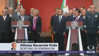 Alfonso Navarrete: Se busca una transición ordenada y eficaz