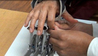 Rehabilitan dedos de la mano con tecnología creada por el IPN