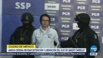 Detención y Liberación Hijo Amado Carrillo
