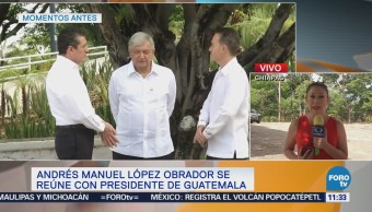 AMLO busca incluir a Centroamérica en un programa regional