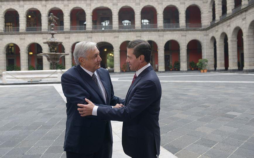 Vamos a cancelar la reforma educativa, reitera Amlo ante Peña Nieto
