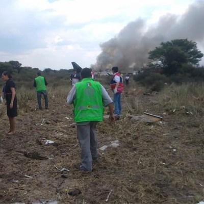 Reportan delicado al capitán del avión accidentado de Aeroméxico
