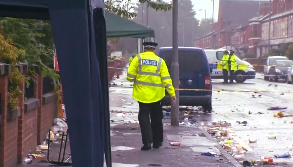 Al menos diez heridos en un tiroteo en Mánchester — Reino Unido