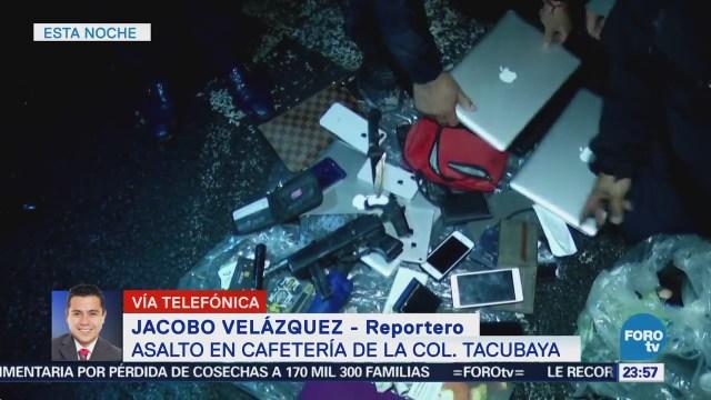 Asalto Starbucks Tacubaya CDMX Robo