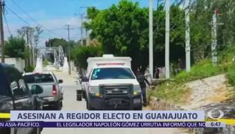 Asesinan a regidor electo del PRD en Cortázar