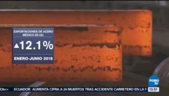 Aumenta Exportación Acero México Eu 12.1%