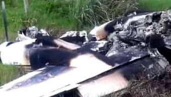Avioneta cae en zona fronteriza entre México y Belice