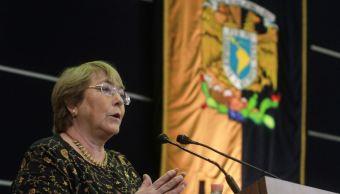 Defensa de derechos obliga a no bajar los brazos: Bachelet