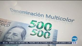 Banxico Presenta Nuevo Billete 500 Pesos
